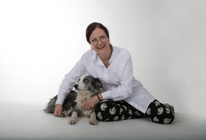 Tiergestützte Therapie mit Therapiehund Amy