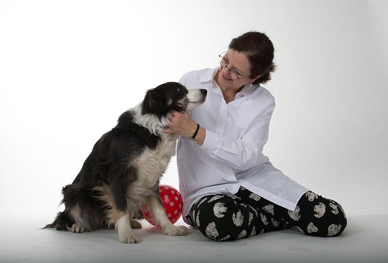 Tiergestützte Therapie mit Therapiehund Trine
